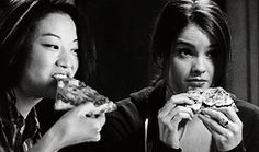 1k my stuff Teen Wolf twedit kira yukimura malia tate kirasyukimura malira i am so ready for scenes with these two i am so ready for them to dance together in a club just give me these badass ladies and lots of them p.s. sorry for putting the pizza gif in everything