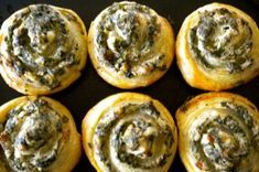 A nice appetizer that is best warm but definitely good at room temperature and can be made ahead before baking and frozen until ready to use....just thaw a bit before slicing. - inpatskitchen