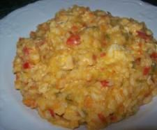 Red curry chicken risotto #thermomix