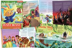 Tired of buying children magazines that are riddled with adverts and with plastic junk on the front? Storytime magazine is plastic tat and advert-free and it. Big Bad Wolf, If Rudyard Kipling, Latest Issue, Magazines For Kids, Funny Bunnies, Riddles, Story Time, Squirrel, Fairy Tales