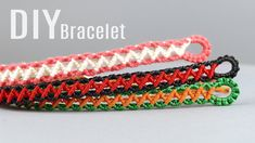 DIY Zig Zag Wave Bracelet Easy #macrame #bracelet #jewelrymaking #tutorial #weaving #diyideas