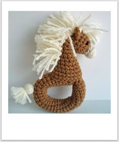 Zebra or Pony Rattle Pattern