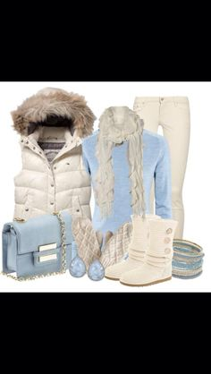 Cute winter outfit #fashion