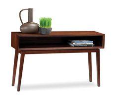 Eras Retro Coffee table in Chocolate Walnut by BDI #retro #table #furniture