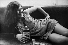 Janis Joplin + southern comfort