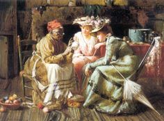 Reading Tea Leaves. Harry Herman Roseland