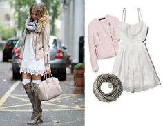 Leather and lace work well together don't they? #ootd #style
