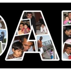 fathers day collage. definetely making this
