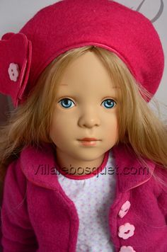 Les belles poupées Sylvia Natterer sont sur notre site villalebosquet.com!