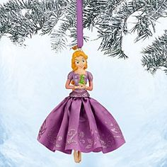 Disney Rapunzel Sketchbook Ornament | Disney StoreRapunzel Sketchbook Ornament - Frocked in a glittering satin gown, our radiant Rapunzel ornament will set your heart free. Dress the holiday tree with this classic Disney dreamer from <i>Tangled</i>.