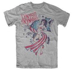 Lynyrd Skynyrd Lady Liberty T-Shirt BY LIVE NATION