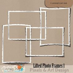 CU Lifted Photo Frames 1