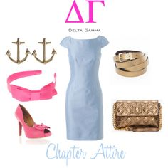 DG Chapter Attire