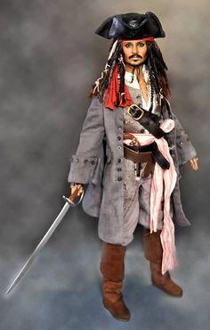 Captain Jack Sparrow (Johnny Depp) by Noel Cruz Creations