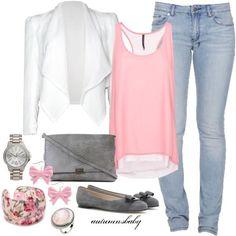 Soft Pink N White