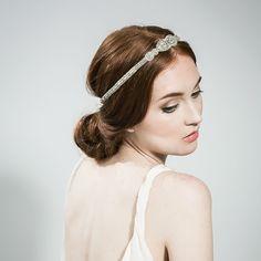 Emmy London Tear Drop Halo Bridal Hair Decoration www.emmylondon.com Emmy London   Elegant   Vintage   Swarovski Crystals