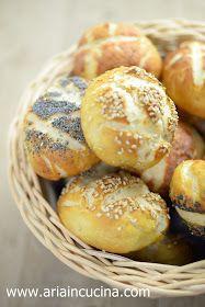 Blog di cucina di Aria: Panini Laugenbrot