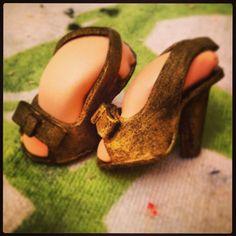 zapatos de tacón para fofucha