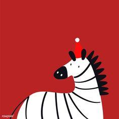 Cute zebra in a cartoon style vector | free image by rawpixel.com Cheetah Cartoon, Cartoon Tiger, Cartoon Wolf, Zebra Drawing, Baby Drawing, Zebra Illustration, Illustration Animals, Illustration Styles, Crocodile Cartoon