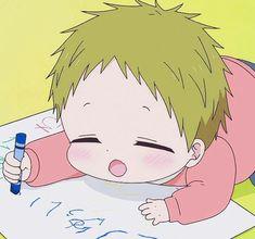 Rainbow Vomit, Gakuen Babysitters, Comedy Anime, Cute Chibi, Work Inspiration, Manga Art, Aesthetic Wallpapers, Cute Wallpapers, Cute Boys
