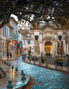 Streets of Avignon, France. Ig you love French culture & history then Avignon, France is a brilliant city break Places Around The World, Oh The Places You'll Go, Travel Around The World, Places To Travel, Travel Destinations, Places To Visit, Around The Worlds, Europe Places, Dream Vacations