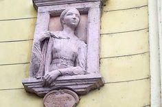 Relief der Julija Primic#Ljubljana #Laibach #Slowenien