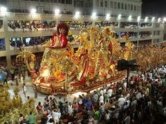 Carnival (Carnaval) in Rio de Janeiro, Brazil.