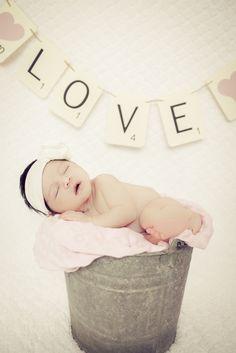 Sweet baby girl photo | Diane Loveless Photography