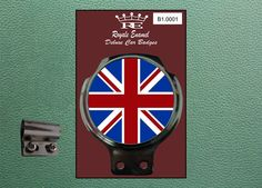 #Royale #classic car badge & bar clip union jack england gt britain mod #b1.0001,  View more on the LINK: http://www.zeppy.io/product/gb/2/181817604546/