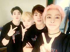 [#형원] 몬베베 또 보고싶..ㅠ조심히 가고 못 온 몬베베는 다음에 봐요 ㅎㅎ  #Wonho #Jooheon #Shownu #Hyungwon