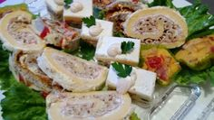 Slani rolat sa makom i kulenom Fresh Rolls, Cheese, Ethnic Recipes, Food, Essen, Meals, Yemek, Eten