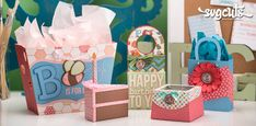 B Is For Birthday SVG Kit BOX b is for the best sag site..... MARY ..got married this past week...