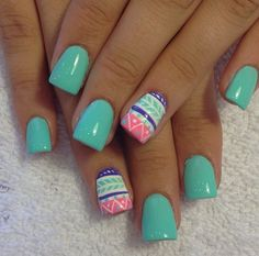 Teal and tribal for summer