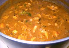 Cajun Delights: Cajun Crawfish Etouffee' - Made for a Cajun Feast 9/15/13 to celebrate Dad's birthday. I will make again but will make the etouffe creamier next time