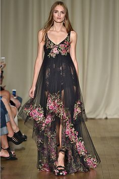 Shop Women's Marchesa Gowns on Lyst. Track over 703 Marchesa Gowns for stock and sale updates. Marchesa Fashion, Marchesa Gowns, Runway Fashion, Vogue Fashion, Fashion Trends, Georgina Chapman, Ellie Saab, Lela Rose, Carolina Herrera