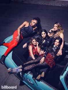 Fifth Harmony: The Billboard Photo Shoot