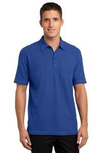 Port Authority Modern Stain-Resistant Pocket Polo