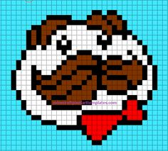 Minecraft Pixel Art Templates this page has lots of great pixle art templates!