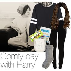 REQUESTED: Comfy day with Harry by style-with-one-direction on Polyvore featuring VILA, iittala, River Island, OneDirection, harrystyles, 1d and harry styles one direction 1d