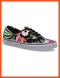Vans Authentic Hawaiian Floral Black Men's 6/ Women's 7.5 - Sneakers for women (*Amazon Partner-Link)