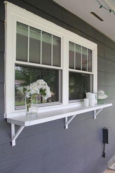 Build a Window Serving Buffet - Bright ...