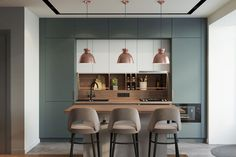 Luxury Kitchen - Regardless of whether you're planning for a move to another house or you essentially need to a kitchen redesign, these astounding kitchen Minimalist But Luxurious Kitchen Design thoughts will prove to be useful. Luxury Kitchen Design, Best Kitchen Designs, Luxury Kitchens, Interior Design Kitchen, Modern Interior Design, Home Kitchens, Dream Kitchens, Modern Kitchens, Home Decor Kitchen