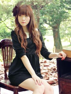 Mango Doll - Black Back Button Dress , $39.99 (http://www.mangodoll.com/all-items/black-back-button-dress/)