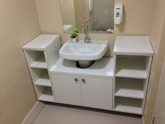 modern modular sink cabinet design ideas for bathroom storage ideas modern small bathroom designs with sink vanity latest small bathroom design ideas w. Small Bathroom Sink Cabinet, Bathroom Vanity Designs, Small Bathroom Storage, Bathroom Cabinets, Bathroom Ideas, Cabinet Furniture, Bathroom Furniture, Bathroom Interior, Furniture Design