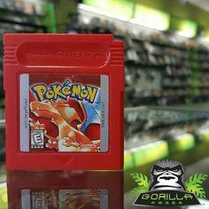 #Pokemon #Red Gotta Catch Em All!