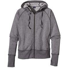 Women's Cloud Stack Hoody ($99) ❤ liked on Polyvore