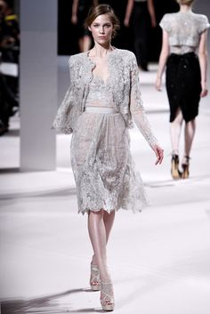 Elie Saab Spring 2011 Couture Fashion Show - Dasha Sushko (WM)