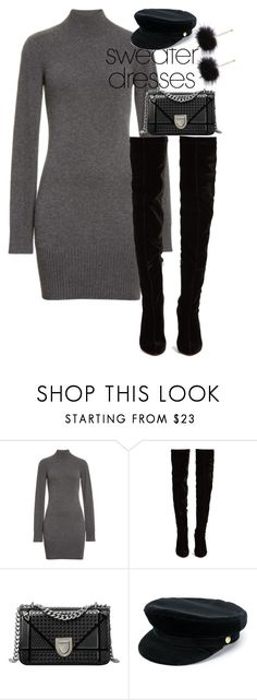 """""""sweater dress -