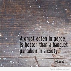 Aesop about peace