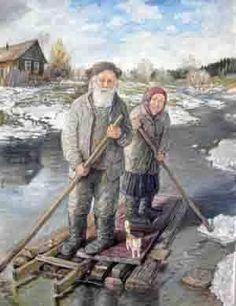 Дед да баба художника Леонида Баранова. Обсуждение на LiveInternet - Российский Сервис Онлайн-Дневников